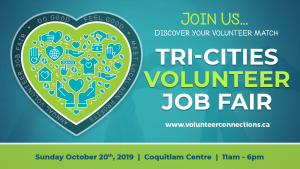 2019 Tri-Cities Volunteer Job Fair @ Coquitlam Centre | Coquitlam | British Columbia | Canada
